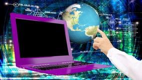 创新现代工程学计算机科技 免版税库存照片