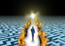创新领导 向量例证