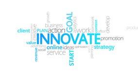 创新,给印刷术赋予生命 向量例证