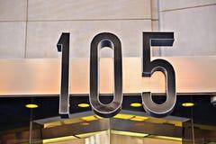 创立105 免版税库存图片