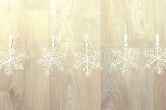 创造室内圣诞节装饰 图库摄影