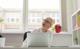 创造性企业人认为 免版税图库摄影