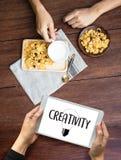 创造性创造性和设计想法的革新过程和i 库存照片