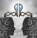 创造性合作的概念 向量例证