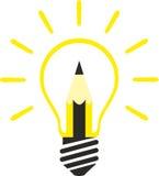 创造性和新的想法 免版税库存照片