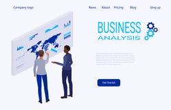 创造性和解答的网页模板 库存照片