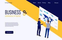 创造性和解答的网页模板 库存图片