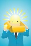 创造性头脑 免版税库存照片