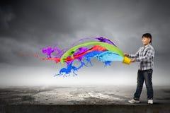 创造性思为 免版税库存照片