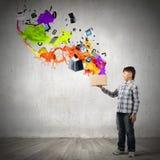 创造性思为 库存照片