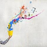 创造性思为 图库摄影