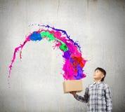 创造性思为 库存图片