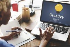 创造性想法启发创新浓缩解答的技术 免版税库存图片