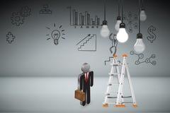 创造性的事务和想法概念 免版税库存照片