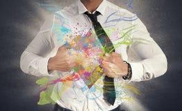 创造性的事务 免版税库存图片