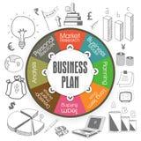 创造性的五颜六色的企业infographic布局 库存图片