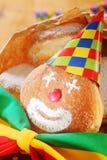 创造性的五颜六色的狂欢节食物 免版税库存图片
