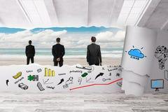 创造性的企业概念 免版税库存图片