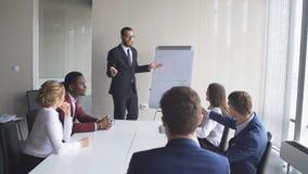 创造性的企业队会议在现代开始办公室 免版税图库摄影