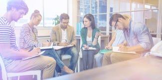 创造性的企业队在会议 免版税库存图片