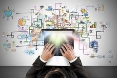 创造性的企业项目 库存照片