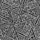 创造性的传染媒介几何无缝的样式 向量例证