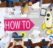 创造性的创新发展成长成功计划概念 免版税库存图片