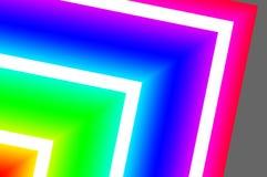 创造性的动态抽象/发光的霓虹背景 免版税库存图片