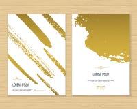 创造性的卡片模板 免版税库存图片