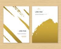 创造性的卡片模板 库存图片