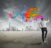 创造性的商业 免版税库存照片