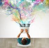创造性的商业 免版税库存图片