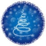 创造性的圣诞节概念 库存例证