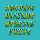 创造性的字体 免版税库存照片