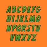 创造性的字体 免版税图库摄影