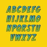 创造性的字体 库存照片