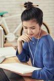 创造性的学生 免版税库存图片