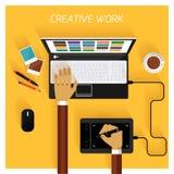 创造性的小组 免版税库存图片