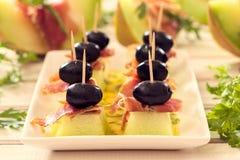 创造性的开胃菜 库存图片