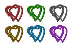 创造性的心脏 免版税库存图片