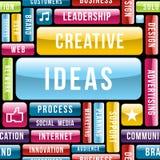 创造性的想法概念样式 皇族释放例证
