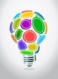 创造性的想法 皇族释放例证