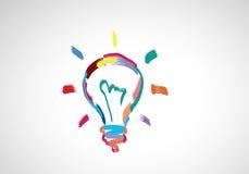 创造性的想法 免版税库存照片