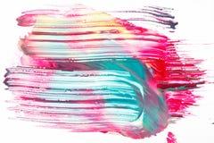 创造性的抽象印刷品,现代艺术,颜色油漆 库存照片