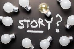 创造性的故事 库存图片