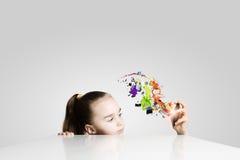 创造性的教育 免版税库存图片