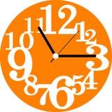 创造性的时钟表盘设计 库存图片