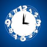 创造性的时钟 免版税库存照片