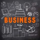 创造性的时髦的企业infographic布局 免版税图库摄影
