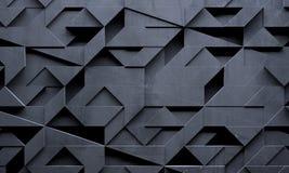 创造性的未来派黑暗的背景 库存例证